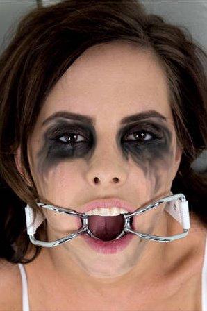 Расширитель для рта Asylum Patient Mouth Restraint белый, фото 4