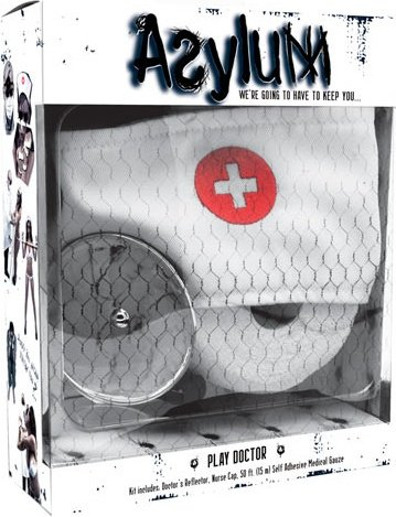 Набор доктора Asylum: шапочка, отражатель и эластичная фиксация, фото 2