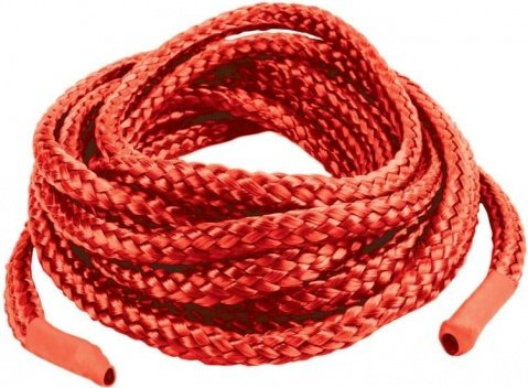 Верёвка из японского шелка Japanese Silk Love 3 м., цвет Красный
