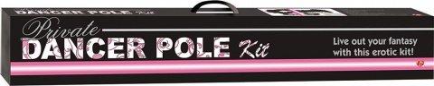 Танцевальный шест Private Dancer Pole Kit, розовый, фото 2
