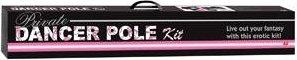 Танцевальный шест Private Dancer Pole Kit, розовый, фото 3