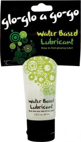 Светящийся лубрикант Glo-Glo a Go-Go Water Based Lubricant, 44 мл