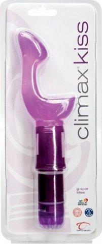 Вибратор для точки G Climax Kiss G-Spot Bliss, фото 2