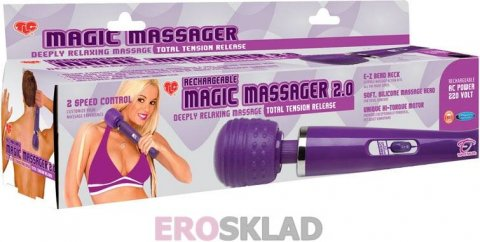 Массажер TLC Rechargeable Magic Massager 2.0, фото 6