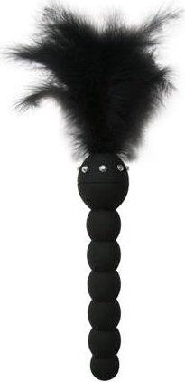 Анальный стимулятор-елочка Feathered Friend 5,5, черный, фото 2