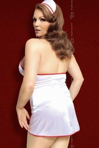бел `джулия` костюм медсестры: платье + чепчик, фото 2