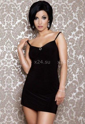 Платье черное вечернее со стразами, фото 4
