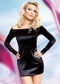 Платье черное | Белье больших размеров | Секс шоп Мир Оргазма