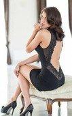 Платье черное | Платья | Интернет секс шоп Мир Оргазма