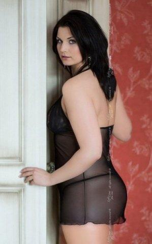 XL черн Комбинация Marilyn + трусики, фото 2