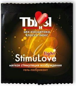 Ты и Я - Гель-любрикант ''StimuLove light'' возбужд. 4 г (20*1) упак, фото 2