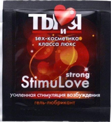 Ты и Я - Гель-любрикант ''StimuLove strong'' 4 г (20*1) упак