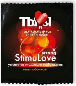 Ты и Я - Гель-любрикант ''StimuLove strong'' 4 г (20*1) упак, фото 2