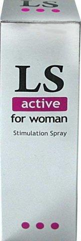 Спрей для женщин (стимулятор) lovespray active'' 18 гр, фото 4
