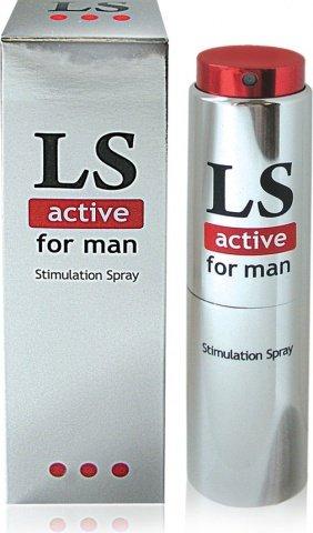 Спрей для мужчин (стимулятор) lovespray active'' 18 гр, фото 5
