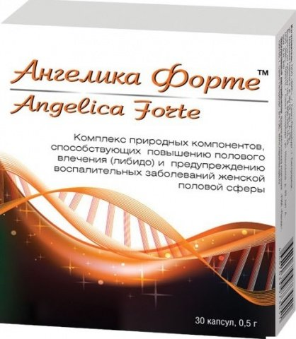 Ангелика форте капс. 0,5 г. 30, д\жен, фото 2