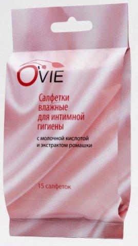 O Vie С молочной кислотой салфетки для интимной гигиены влажные 15