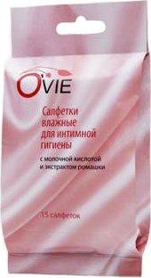 O Vie С молочной кислотой салфетки для интимной гигиены влажные 15, фото 2