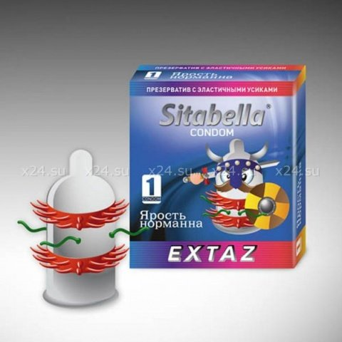 Презерватив Sitabella Extaz Ярость норманна(1267)*24
