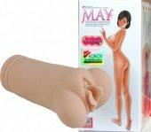 Маструбатор вагина без вибрации 3 с двойным слоем материала - Секс шоп Мир Оргазма