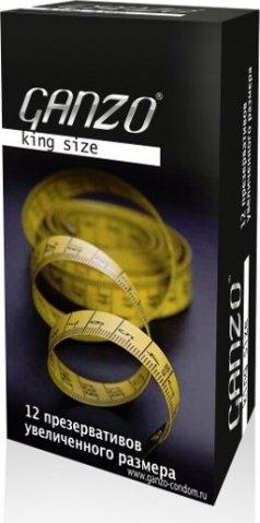 Презервативы Ganzo King Size 12 Увеличенного размера 12/6