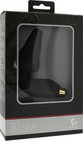 Вибростимулятор простаты черный Butt Boy 7-speed P-Spot vibrator Black, фото 2