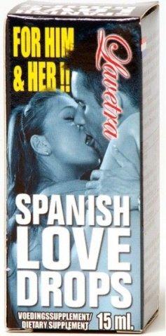 Возбуждающие капли Spanish Love Drops (15 мл), фото 2