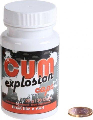 Таблетки для увеличения количества спермы CUM Explosion Caps, фото 2
