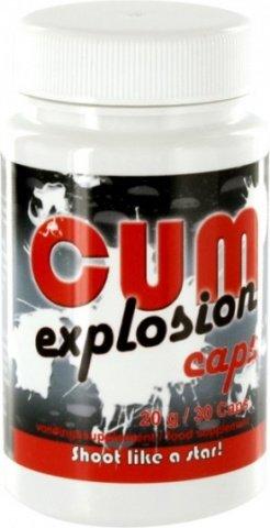 Таблетки для увеличения количества спермы CUM Explosion Caps, фото 3
