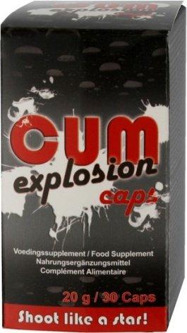 Таблетки для увеличения количества спермы CUM Explosion Caps, фото 4