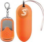 Виброяйцо оранжевое с пультом ДУ | Беспроводные внутренние вибраторы | Секс шоп Мир Оргазма
