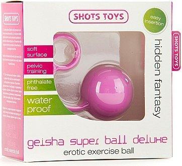 Вагинальный шарик Geisha Super Ball Deluxe розовый, фото 2