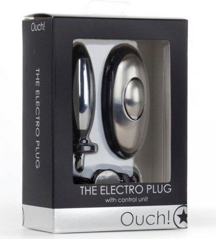 Анальная втулка с электростимуляцией The Electro Plug