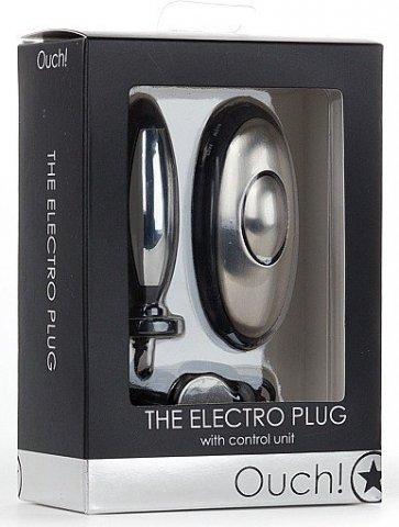 Анальная втулка с электростимуляцией The Electro Plug, фото 2