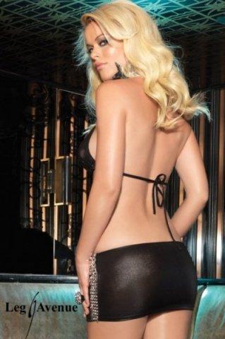 M/L-Топ + юбка черный, фото 2