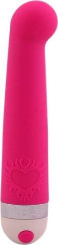 Розовый вибромассажер G-точки Hit The Spot Pink, фото 2