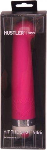 Розовый вибромассажер G-точки Hit The Spot Pink, фото 3