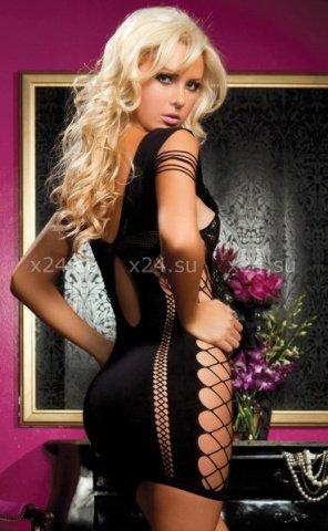 Черное платье wild