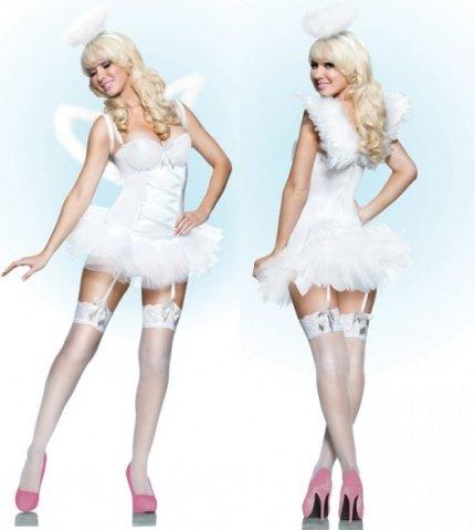 Белоснежный костюм ангела