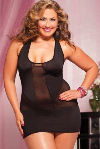 Черное короткое платье, фото 2
