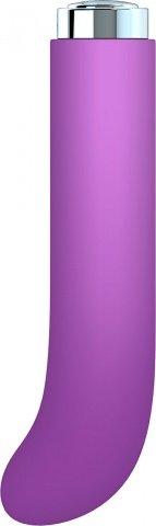 G-вибратор charms curve из премиум-коллекции key лавандовый 10 см