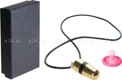 Кулон-вибратор Mini Bullet Necklace, фото 2