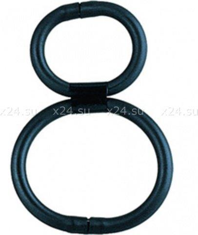 Эрекционное кольцо на член и мошонку double helix, фото 2