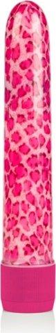 Вибромассажер розовый леопард, фото 2