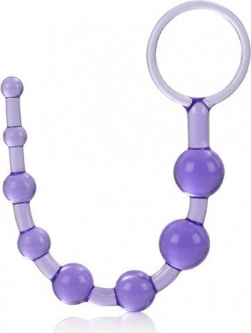 Анальная цепочка фиолетовая Shane's World, фото 3