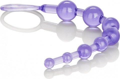 Анальная цепочка фиолетовая Shane's World, фото 4