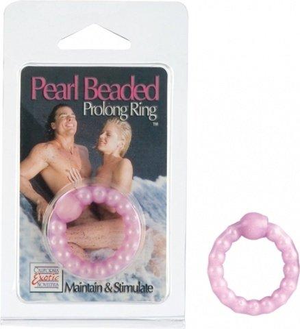 Кольцо эрекционное pearl beaded