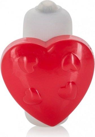Вибро-стимулятор в виде сердца на трусики с магнитом Panty Pall, фото 4