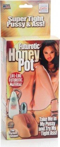Мастурбатор futurotic honey pot, фото 3