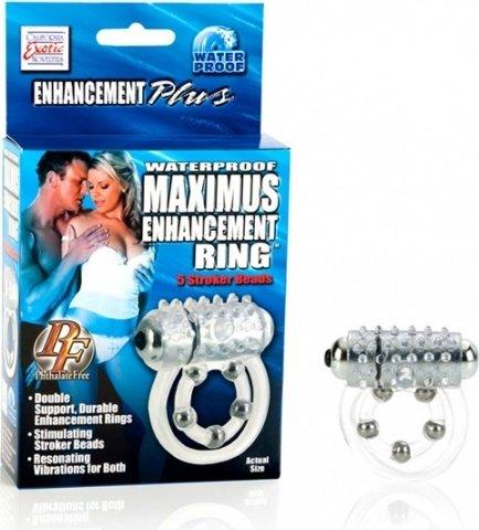 Водонепронциаемое вибрирующее кольцо maximus